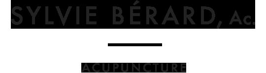 Sylvie Bérard - Ac. - Acupuncture